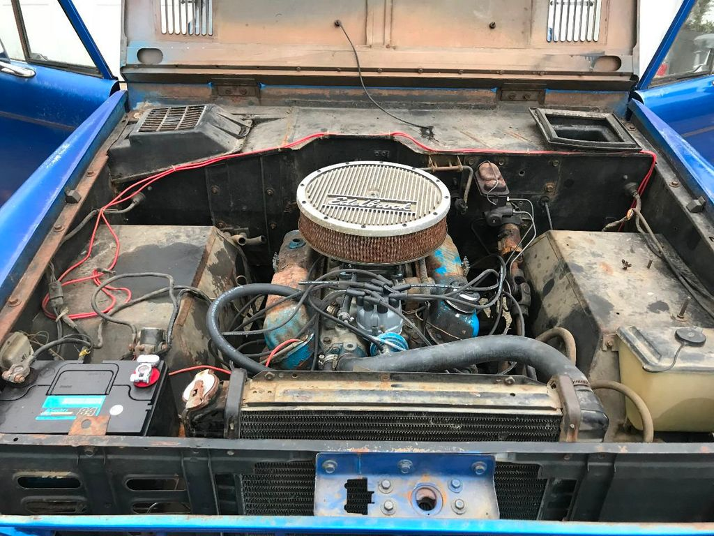 1969 Ford Bronco 302 V8, Power Steering and a 3spd Manual Trans  - 17149342 - 10