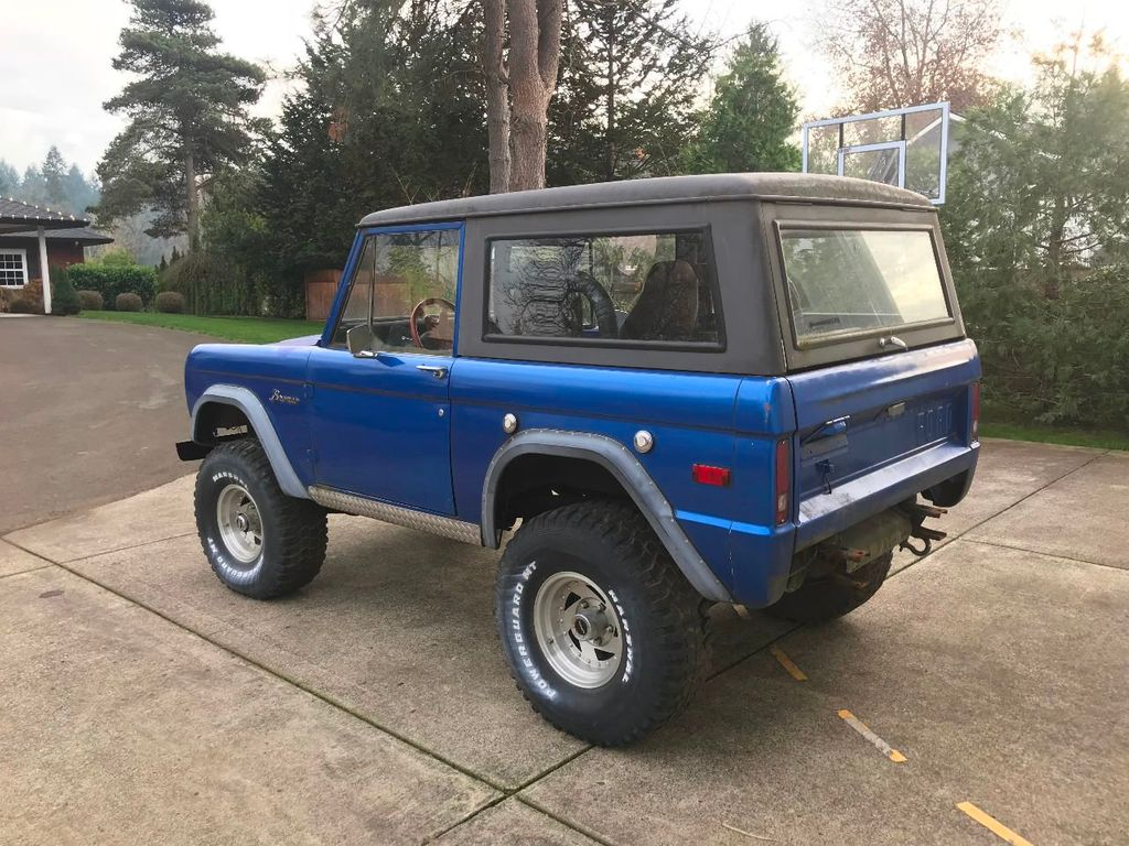 1969 Ford Bronco 302 V8, Power Steering and a 3spd Manual Trans  - 17149342 - 5