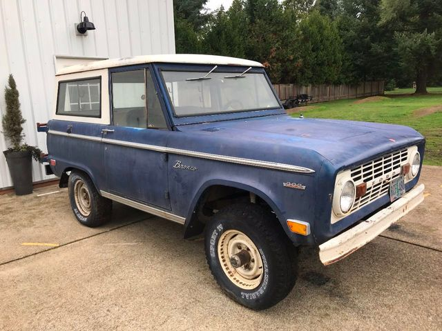 1969 Ford Bronco Completely Stock - 302, 3spd Manual  Very Straight