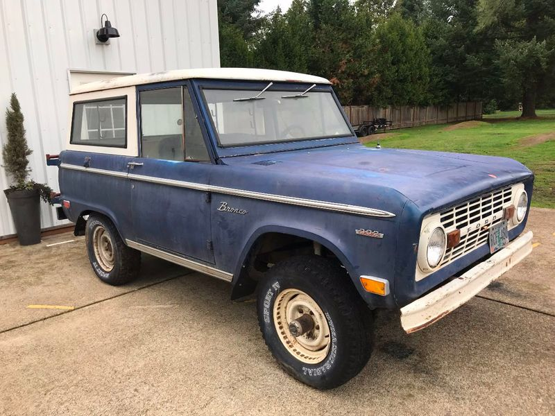 1969 Ford Bronco Completely Stock - 302, 3spd Manual. Very Straight Body!  - 17060320 - 2