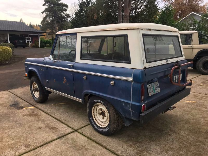 1969 Ford Bronco Completely Stock - 302, 3spd Manual. Very Straight Body!  - 17060320 - 6