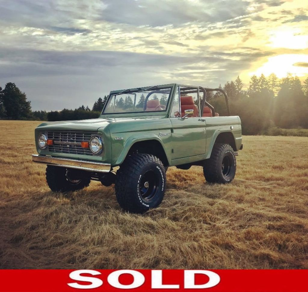 1969 Ford Bronco Custom Frame-Off Restoration, Crate 302 mated to a 5spd!  - 17650686 - 0
