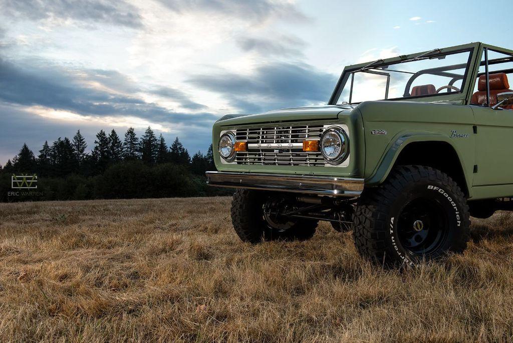 1969 Used Ford Bronco Custom Frame-Off Restoration, Crate ...