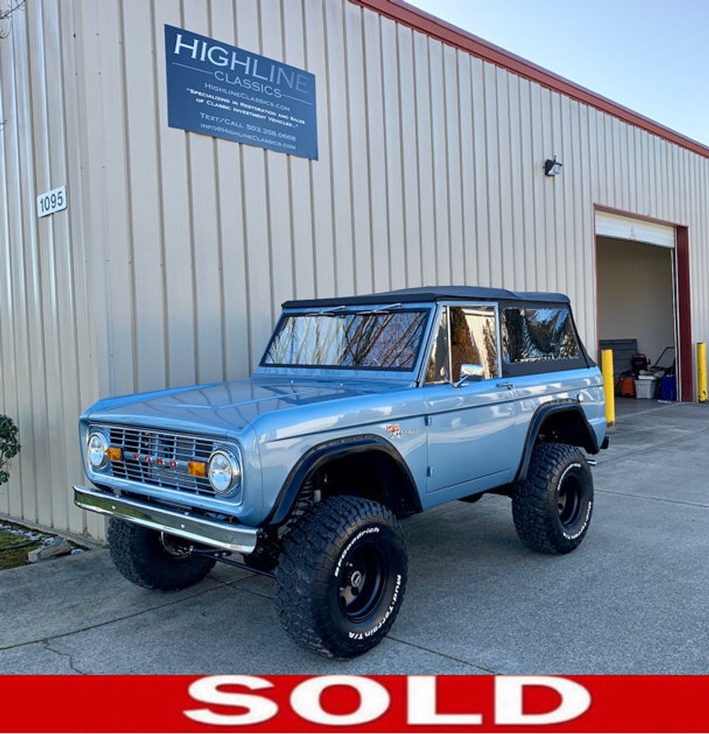 1969 Ford Bronco Custom Order - Fuel Injected 306 mated to a 4R70W  - 18122856 - 0