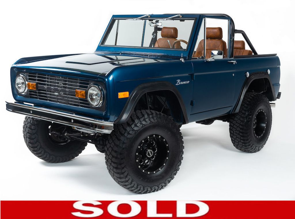 1969 Ford Bronco Ford Racing 400 HP 396 Stroker, Automatic & Full Leather!  - 18122855 - 0