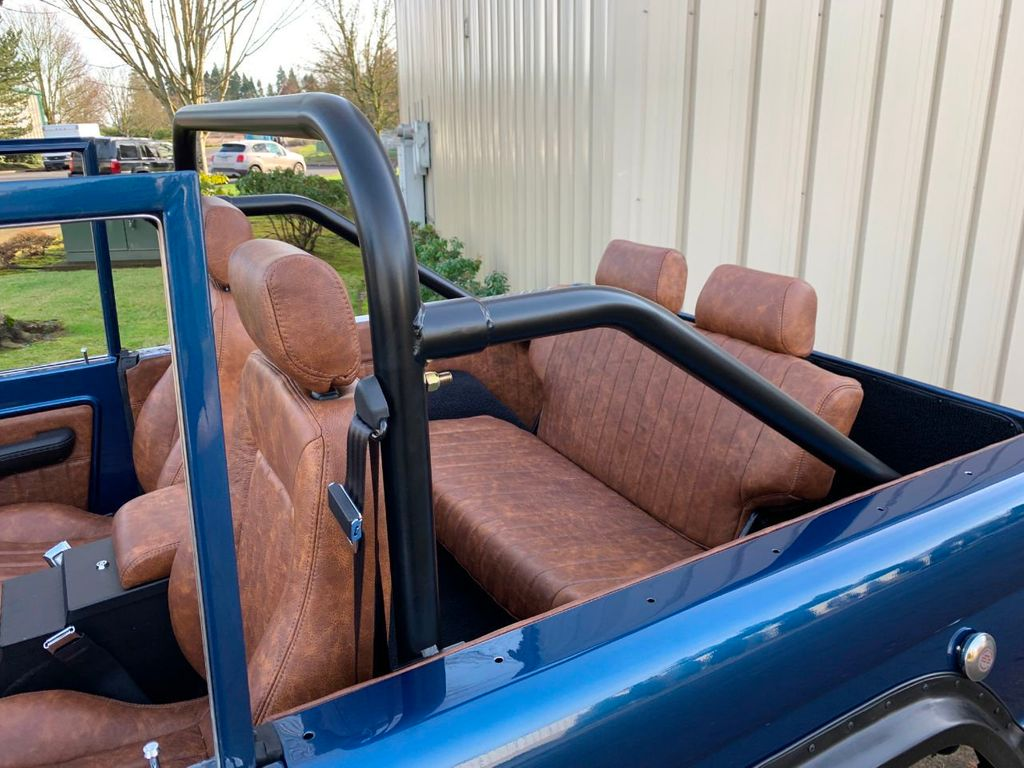 1969 Ford Bronco Ford Racing 400 HP 396 Stroker, Automatic & Full Leather!  - 18122855 - 9