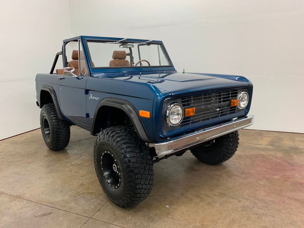 1969 Ford Bronco Ford Racing 400 HP 396 Stroker, Automatic & Full Leather!  - 18122855 - 11