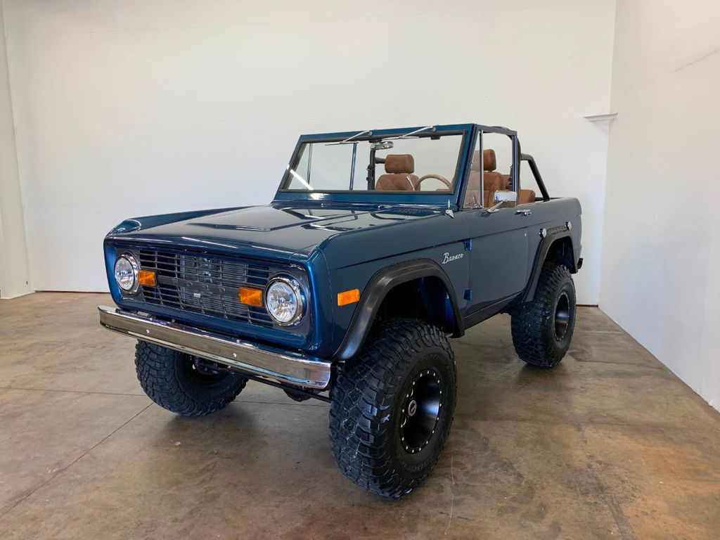 1969 Ford Bronco Ford Racing 400 HP 396 Stroker, Automatic & Full Leather!  - 18122855 - 12