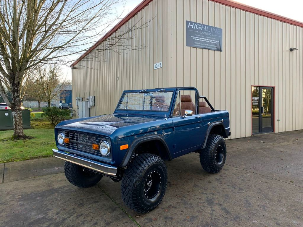 1969 Ford Bronco Ford Racing 400 HP 396 Stroker, Automatic & Full Leather!  - 18122855 - 1