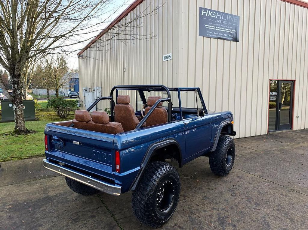 1969 Ford Bronco Ford Racing 400 HP 396 Stroker, Automatic & Full Leather!  - 18122855 - 2