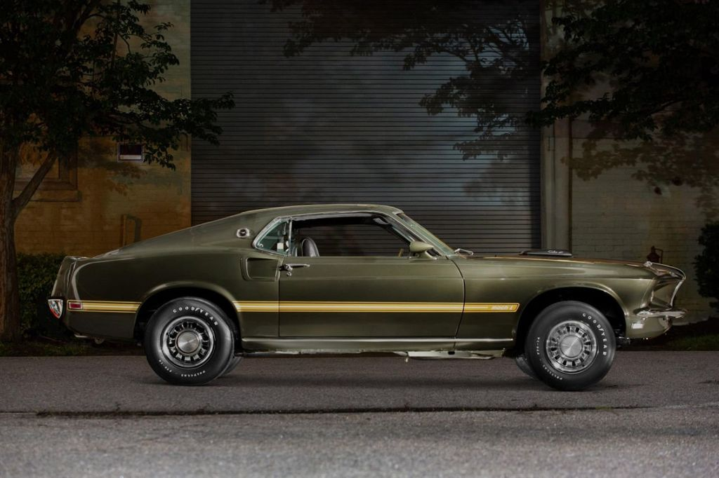 1969 Ford Mustang Mach 1 16867080 0