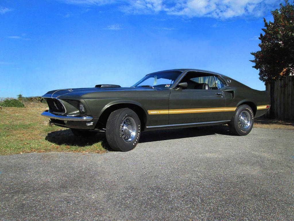 1969 Ford Mustang Mach 1 Cars Custom Design Concepts Gulfstream Aqua 16867080 5
