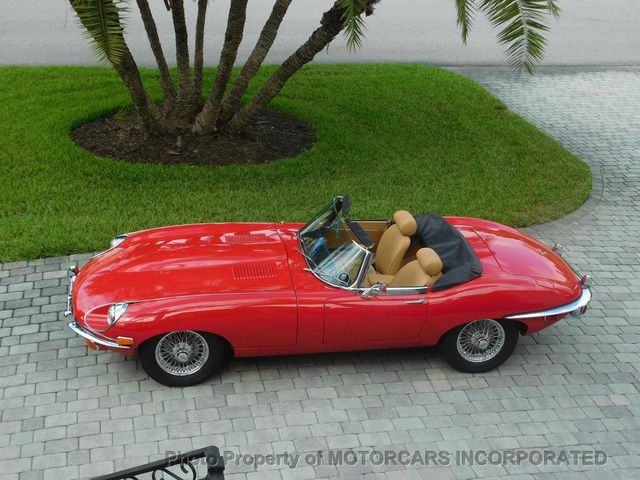 1969 Jaguar E-TYPE ROADSTER  - Click to see full-size photo viewer