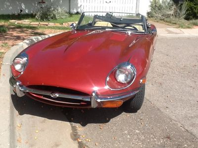 1969 Jaguar E-Type XKE Series II Roadster For Sale Convertible