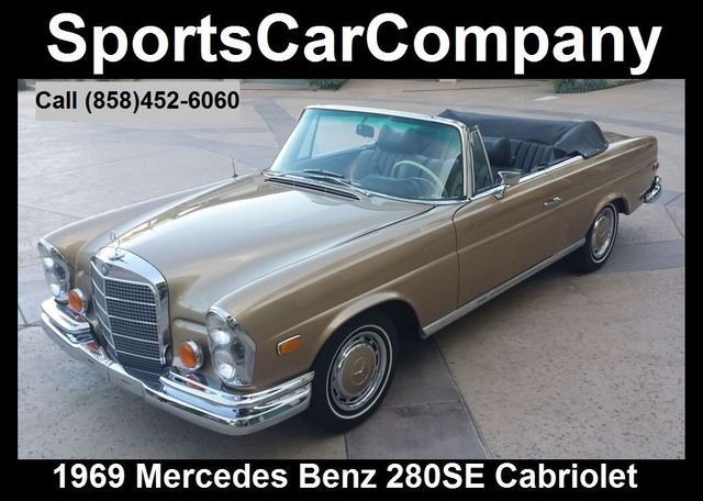 1969 Mercedes-Benz 280SE CABRIOLET 280SE CABRIOLET