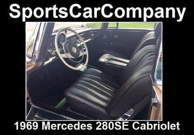 1969 Mercedes-Benz 280SE CABRIOLET 280SE CABRIOLET - Click to see full-size photo viewer