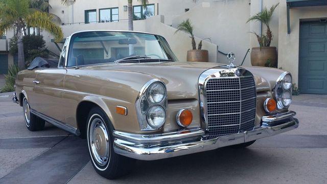 1969 Mercedes Benz 280SE CABRIOLET 280SE CABRIOLET   16910654   39