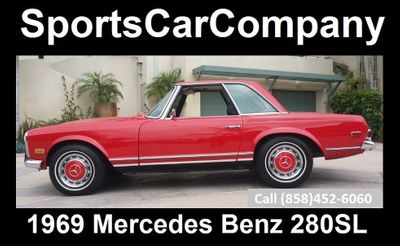 1969 Mercedes-Benz 280SL  - Click to see full-size photo viewer