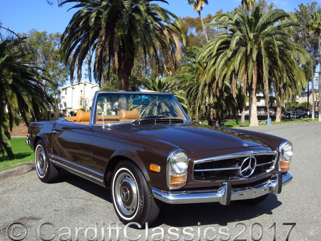 1969 used mercedes benz 280sl pagoda convertible at for Mercedes benz san diego county