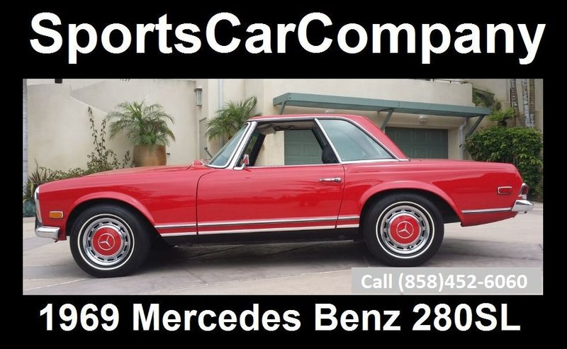 1969 Mercedes-Benz 280SL SOLD - 16577656 - 1