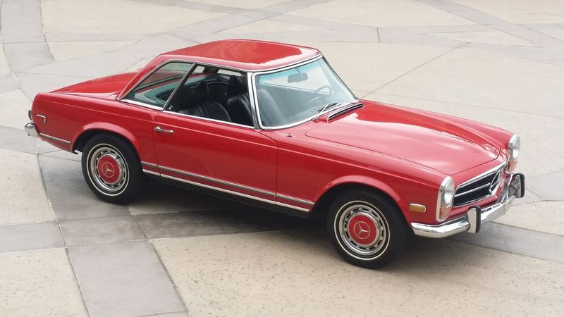 1969 Used Mercedes Benz 280sl Sold At Sports Car Company Inc