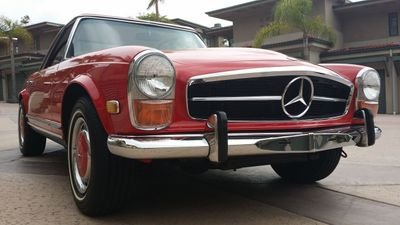 1969 Mercedes-Benz 280SL SOLD - Click to see full-size photo viewer