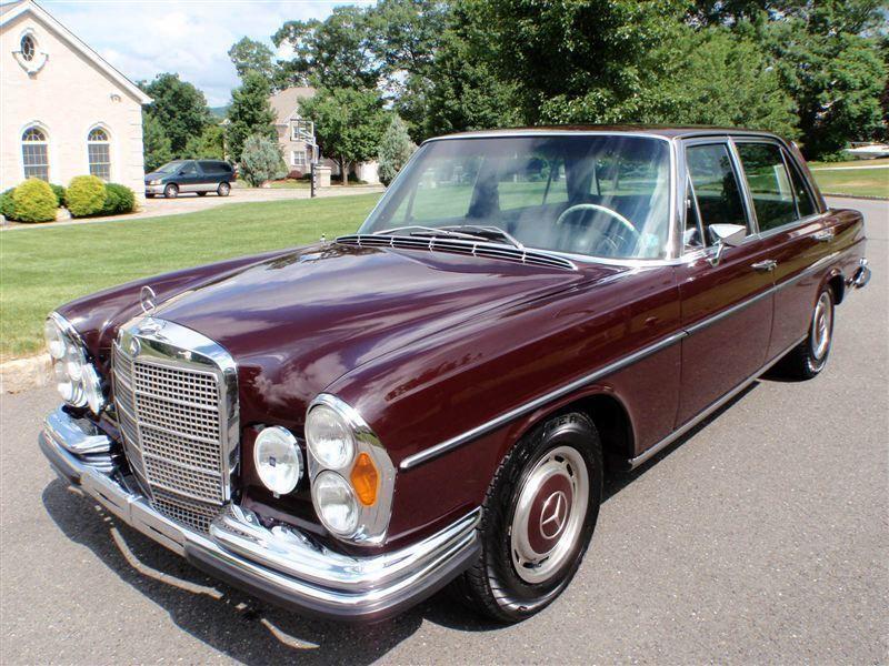 1969 mercedes benz 300sel 6 3 sedan for sale in ramsey nj for Used mercedes benz nj