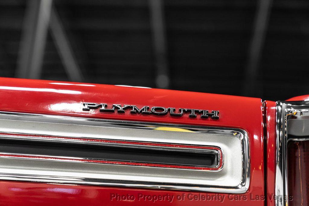 1969 Plymouth GTX 540 HEMI  - 16475836 - 29