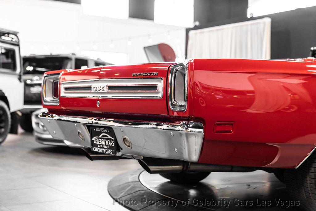 1969 Plymouth GTX 540 HEMI  - 16475836 - 33