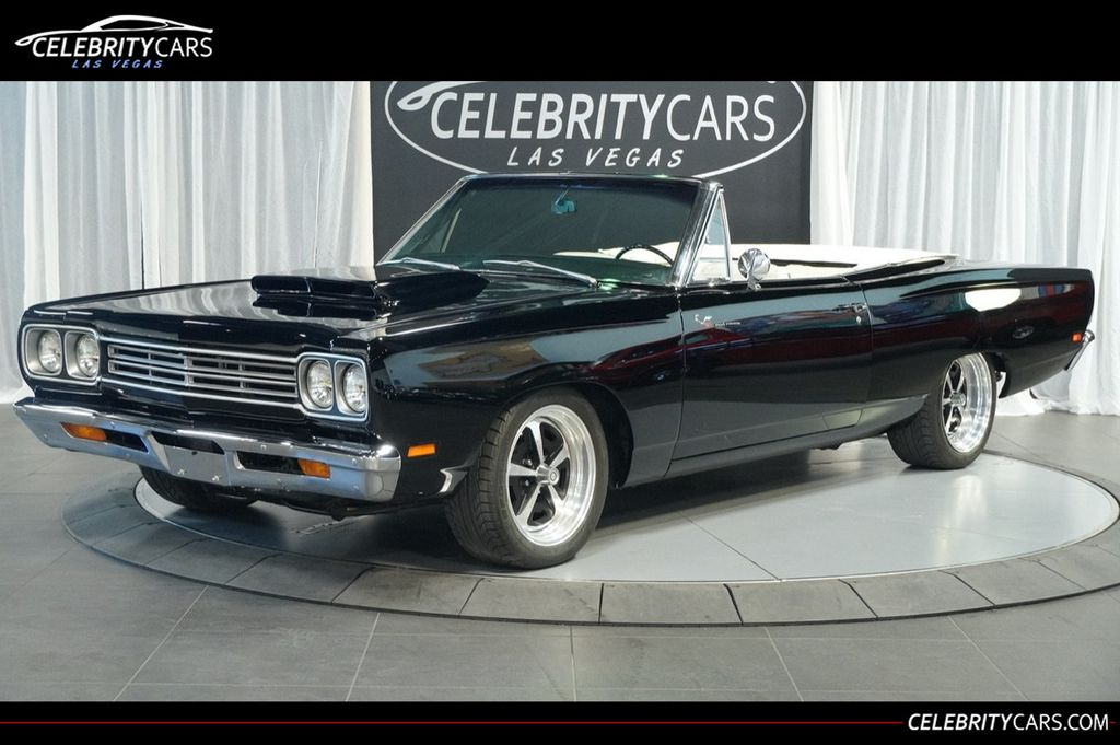 1969 Used Plymouth Road Runner Resto Mod 528 Hemi At Celebrity