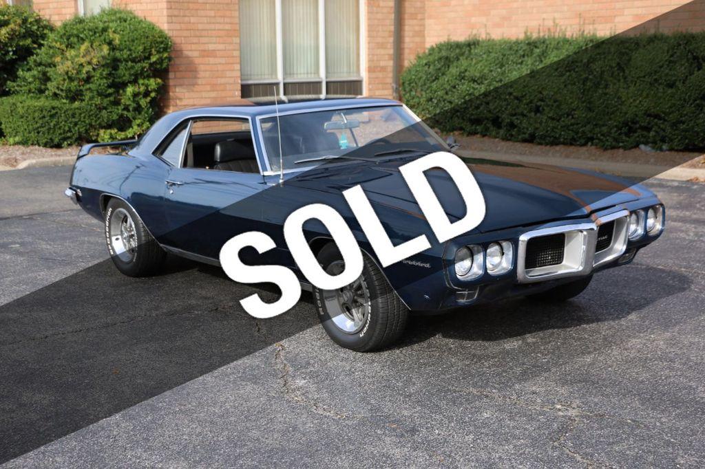 1969 Pontiac Firebird For Sale - 17012159 - 0