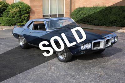 1969 Pontiac Firebird For Sale Coupe