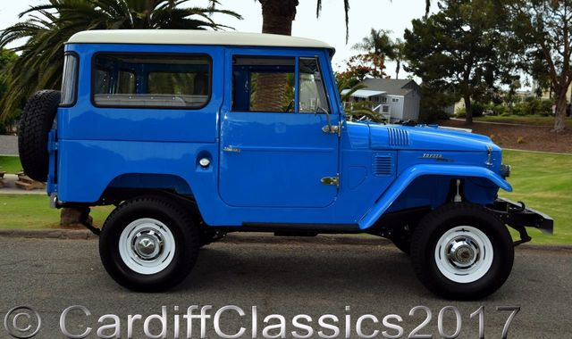 1969 Toyota Landcruiser Frame off Restoration - Click to see full-size photo viewer