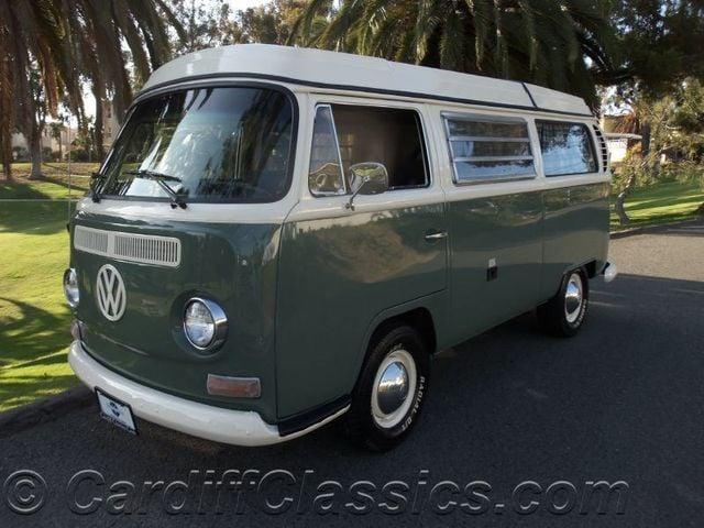 1969 Used Volkswagen Westfalia Bus Weekender Camper Van at Cardiff
