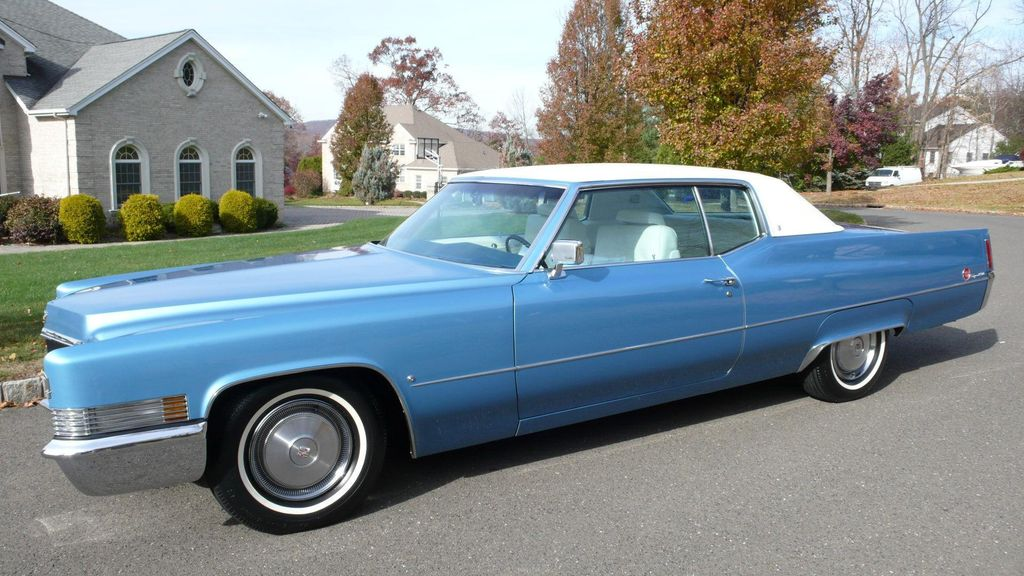1970 Cadillac COUPE DEVILLE LEATHER - 11339873 - 0