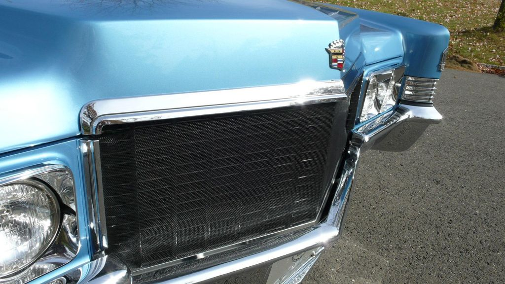 1970 Cadillac COUPE DEVILLE LEATHER - 11339873 - 9