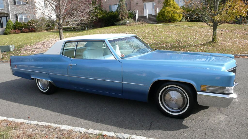 1970 Cadillac COUPE DEVILLE LEATHER - 11339873 - 1