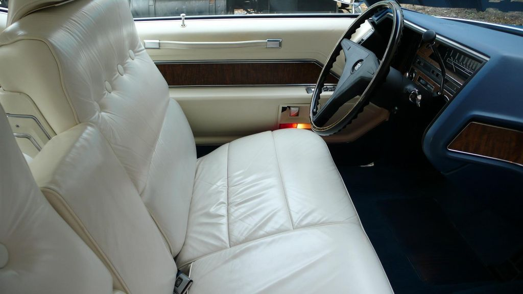 1970 Cadillac COUPE DEVILLE LEATHER - 11339873 - 22