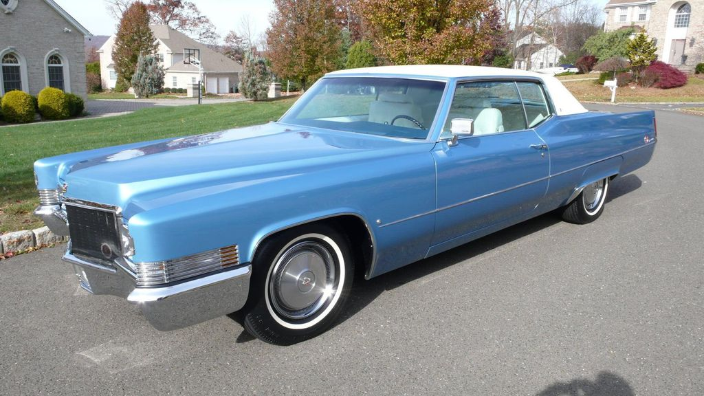 1970 Cadillac COUPE DEVILLE LEATHER - 11339873 - 2