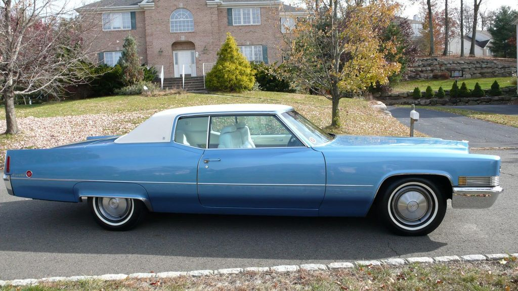 1970 Cadillac COUPE DEVILLE LEATHER - 11339873 - 3