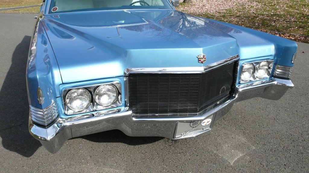 1970 Cadillac COUPE DEVILLE LEATHER - 11339873 - 4