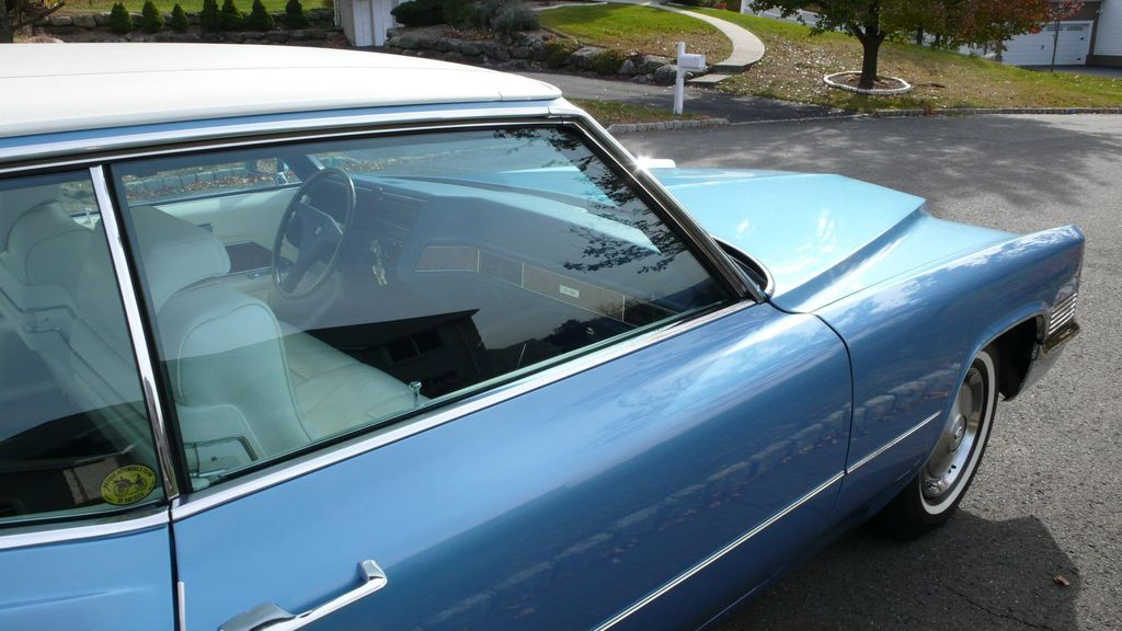 1970 Cadillac COUPE DEVILLE LEATHER - 11339873 - 85