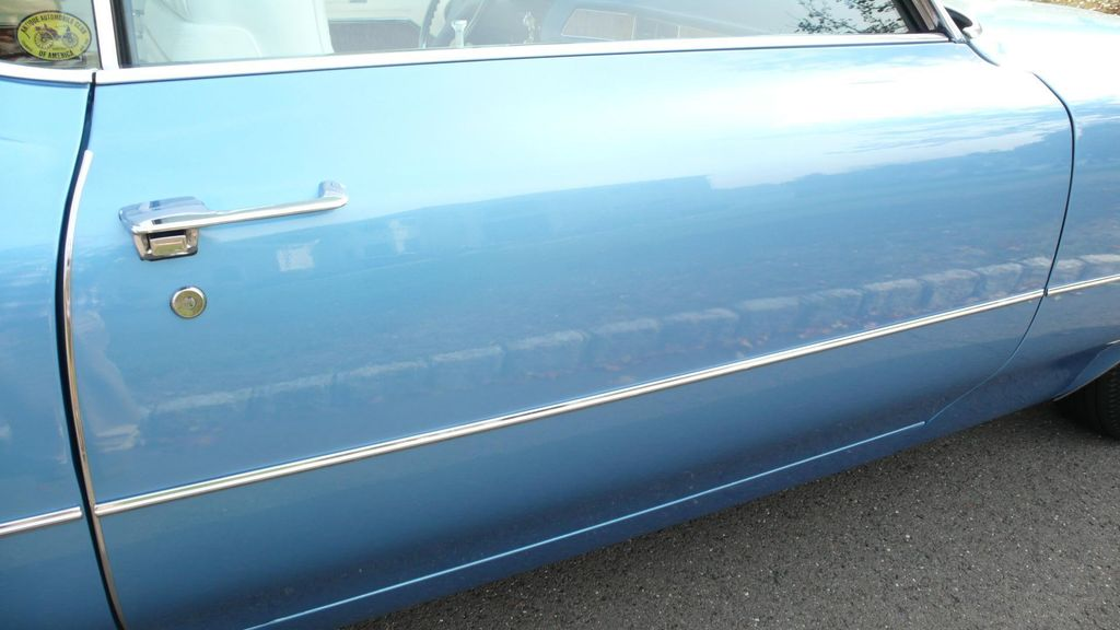 1970 Cadillac COUPE DEVILLE LEATHER - 11339873 - 86