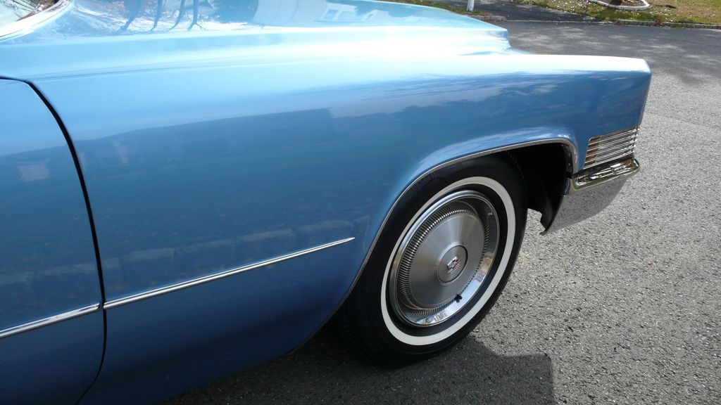 1970 Cadillac COUPE DEVILLE LEATHER - 11339873 - 91