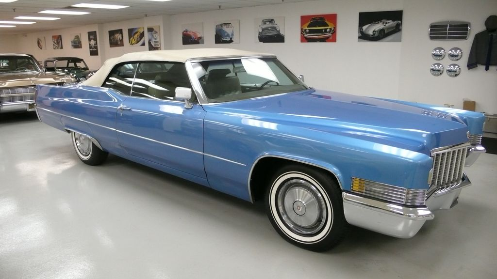 1970 Cadillac DEVILLE coupe - 9609391 - 2