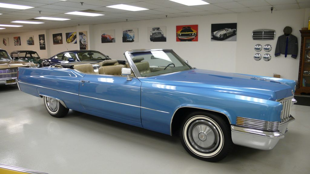 1970 Cadillac DEVILLE coupe - 9609391 - 6