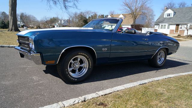 1970 Chevrolet Chevelle LS5 Convertible for Sale Riverhead, NY - $69,995 -  Motorcar com