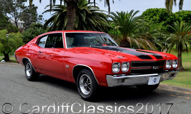 1970 Chevrolet Chevelle SS  - Click to see full-size photo viewer