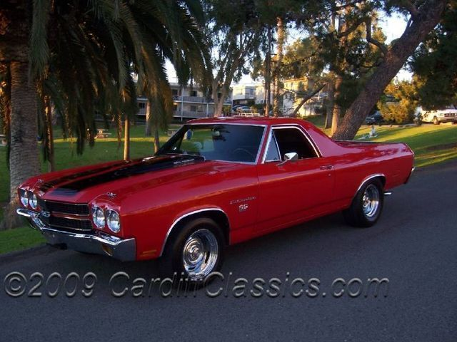 1970 Used Chevrolet El Camino SS 396 at Cardiff Classics Serving Encinitas, IID 3769515