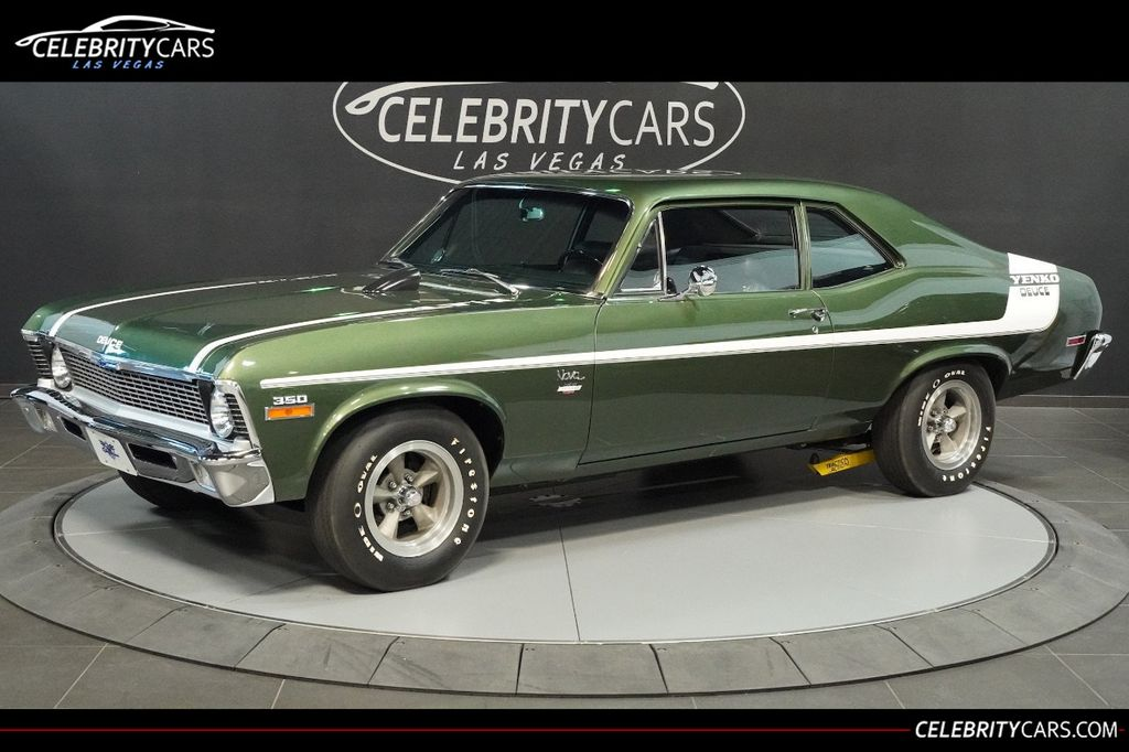 1970 Used Chevrolet Nova Yenko Deuce Copo Lt1 350 Real Yenko Deuce At Celebrity Cars Las Vegas Nv Iid 15436270